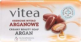 Parfums et Produits cosmétiques Savon crémeux à l'huile d'argan - Vitea Cream Argan Soap
