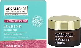 Parfums et Produits cosmétiques Crème raffermissante anti-rides pour visage - Arganicare Shea Butter Anti Aging Cream