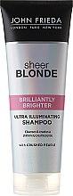 Parfums et Produits cosmétiques Shampooing illuminant pour cheveux blonds - John Frieda Sheer Blonde Brilliantly Brighter Shampoo