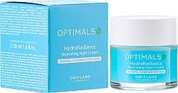 Parfums et Produits cosmétiques Crème de nuit nourrissante - Oriflame Optimals Hydra Radiance Nourishing Night Cream