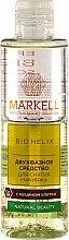 Parfums et Produits cosmétiques Démaquillant liquide bi-phasé à l'extrait de bave d'escargot - Markell Cosmetics Bio Helix
