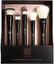 Parfums et Produits cosmétiques Kit de pinceaux maquillage - Sosu by SJ Premium Makeup Brushes (5 pcs)