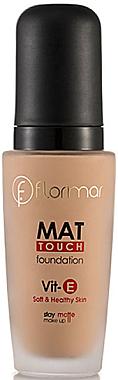 Fond de teint matifiant - Flormar Mat Touch Foundation