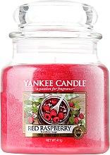 Parfums et Produits cosmétiques Bougie parfumée en jarre Framboise rouge - Yankee Candle Red Raspberry