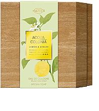 Parfums et Produits cosmétiques Maurer & Wirtz 4711 Aqua Colognia Lemon & Ginger - Coffret cadeau (eau de cologne 170ml + savon/100g)