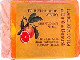 Parfums et Produits cosmétiques Savon glycériné à huile d'orange et pamplemousse - Le Cafe de Beaute Glycerin Soap
