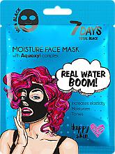 Parfums et Produits cosmétiques Masque pour visage - 7 Days Total Black Moisture Real Water Boom