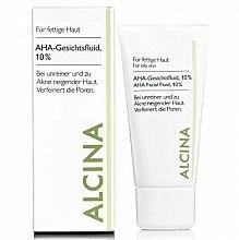 Parfums et Produits cosmétiques Fluide anti-taches et pores dilatés à l'acide de fruits - Alcina Fm Aha Fluid