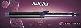 Parfums et Produits cosmétiques Fer à boucler, 25 mm, violet - BaByliss C625E