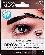 Parfums et Produits cosmétiques Kit teinture pour sourcils - Kiss Brow Tint DIY Kit