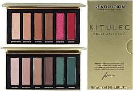 Parfums et Produits cosmétiques Set - Makeup Revolution Kitulec #BlendKitulca Shadow Palette (2xsh/palette/7.8g)