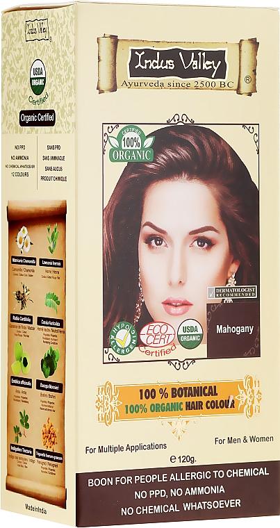 Coloration cheveux au henné bio - Indus Valley 100% Botanical Hair Colour