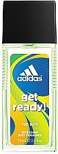 Parfums et Produits cosmétiques Adidas Get Ready for Him - Déodorant avec vaporisateur pour corps