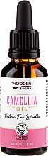 Parfums et Produits cosmétiques Huile bio de camélia - Wooden Spoon Camellia Oil