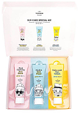 Parfums et Produits cosmétiques Coffret cadeau - Village 11 Factory Sun Care Special Kit (fluid/25ml + block/25ml + cream/25ml)