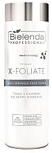 Parfums et Produits cosmétiques Lotion tonique à l'acide hyaluronique - Bielenda Professional X-Foliate Anti-Wrinkle Face Toner