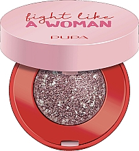 Parfums et Produits cosmétiques Fard à paupières - Pupa Fight A Like Woman Dual Chrome Eyeshadow