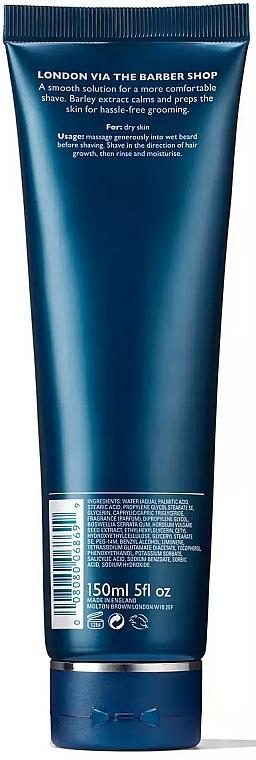 Crème à raser - Molton Brown American Barley Skin-Calm Shaving Cream — Photo N2