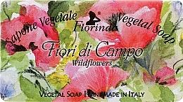 Parfums et Produits cosmétiques Savon naturel artisanal, Fleurs sauvages - Florinda Sapone Vegetale Vegetal Soap Wild Flowers