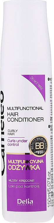 Après-shampooing à la kératine - Delia Cameleo Liquid Keratin Curly Hair