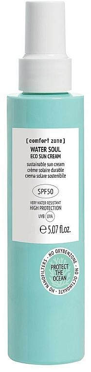 Crème solaire pour visage - Comfort Zone Water Soul Eco Sun Cream Spf50 — Photo N1