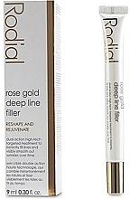 Parfums et Produits cosmétiques Soin aux protéines de blé et extrait de rose pour visage - Rodial Rose Gold Deep Line Filler
