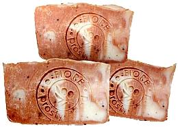 Parfums et Produits cosmétiques Savon artisanal à la framboise et lait d'avoine - E-Fiore Natural Soap Raspberry And Oat Milk