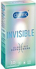 Parfums et Produits cosmétiques Préservatifs ajustés, 10 pièces - Durex Invisible Close Fit