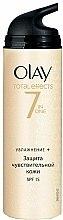 Parfums et Produits cosmétiques Crème de jour à la glycérine - Olay Total Effects Day Cream Sensitive SPF15