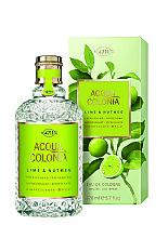 Parfums et Produits cosmétiques Maurer & Wirtz 4711 Aqua Colognia Lime & Nutmeg - Eau de Cologne