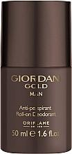 Parfums et Produits cosmétiques Oriflame Giordani Gold Man - Déodorant roll-on parfumé