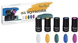 Parfums et Produits cosmétiques NeoNail Professional Wyrazista Set - Set (5 x vernis à ongles/3ml)