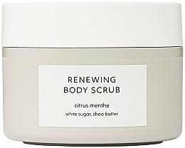 Parfums et Produits cosmétiques Gommage au beurre de karité pour corps, Menthe citronnée - Estelle & Thild Citrus Menthe Renewing Body Scrub