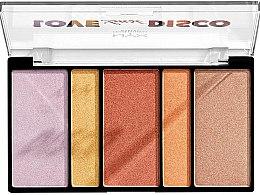Parfums et Produits cosmétiques Palette d'enlumineurs - Nyx Professional Makeup Love Lust Disco
