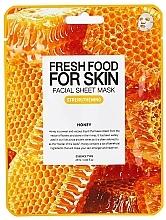 Parfums et Produits cosmétiques Masque tissu au miel pour visage - Superfood For Skin Facial Sheet Mask Honey Strenghtening