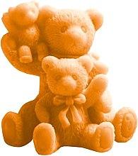 Parfums et Produits cosmétiques Savon naturel artisanal, Trois ours en peluche, orange - LaQ Happy Soaps