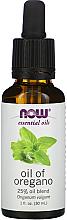 Parfums et Produits cosmétiques Huile d'origan - Now Foods Essential Oils Oil of Oregano Blend
