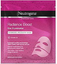 Parfums et Produits cosmétiques Masque hydrogel à la vitamine B3 pour visage - Neutrogena Hydro Boost Radiance Boost Hydrogel Recovery Mask