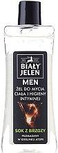 Parfums et Produits cosmétiques Gel nettoyant pour le corps et l'hygiène intime - Bialy Jelen Hypoallergenic Body Gel and Intimate Hygiene 2in1