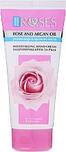 Parfums et Produits cosmétiques Crème à la rose et huile d'argan pour mains - Nature of Agiva Roses Rich Moisturizing Hand Cream