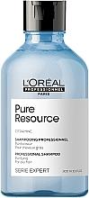 Parfums et Produits cosmétiques Shampooing purifiant cheveux normaux à gras - L'Oreal Professionnel Pure Resource Shampoo
