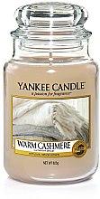 Parfums et Produits cosmétiques Bougie parfumée en jarre Cachemire délicat - Yankee Candle Warm Cashmere