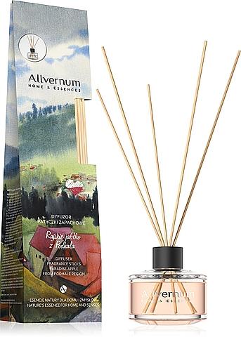 Bâtonnets parfumés, Pomme paradisiaque de Podhale - Allverne Home & Essences Diffuser