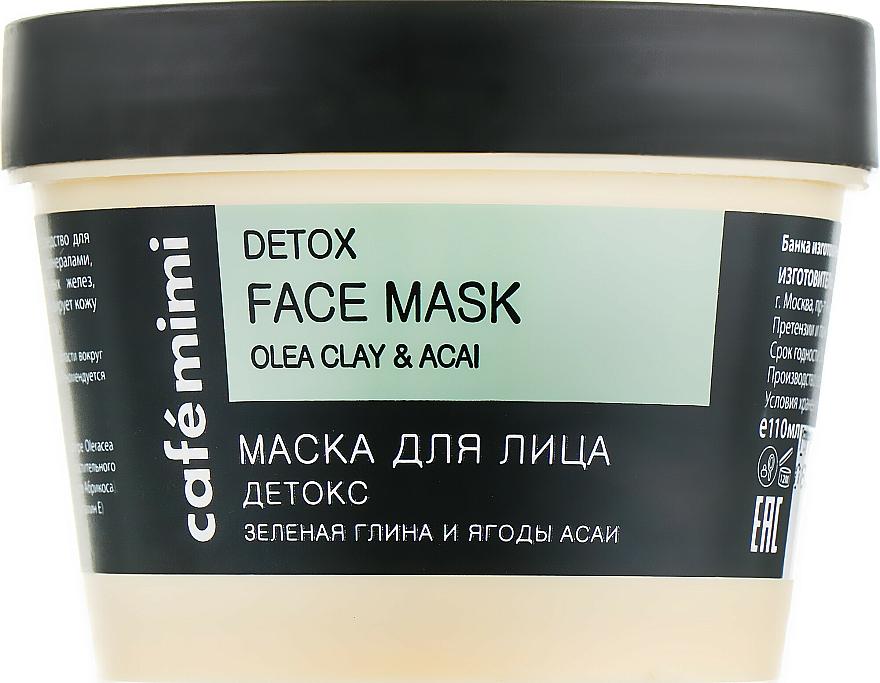Masque à l'argile verte pour visage - Cafe Mimi Face Mask