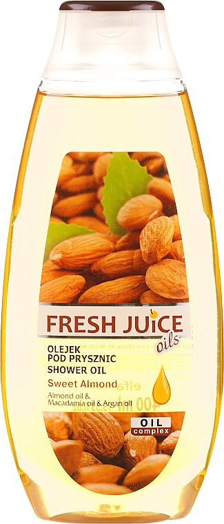 Huile de douche Amandes douces - Fresh Juice Shower Oil Sweet Almond
