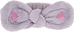 Parfums et Produits cosmétiques Bandeau cosmétique pour cheveux, gris - Lash Brow Cosmetic SPA Band