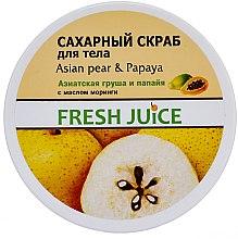 Parfums et Produits cosmétiques Gommage à la poire asiatique et papaye pour corps - Fresh Juice Asian Pear & Papaya