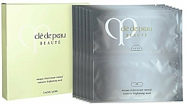 Parfums et Produits cosmétiques Masque tissu à l'extrait d'olive pour visage - Cle De Peau Beaute Intensive Brightening Mask