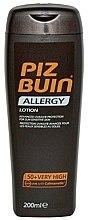 Parfums et Produits cosmétiques Lotion solaire pour peaux sensibles - Piz Buin Allergy Sun Sensitive Skin Lotion SPF50