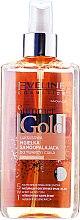 Parfums et Produits cosmétiques Brume autobronzante pour visage et corps, peau claire - Eveline Cosmetics Summer Gold Spray